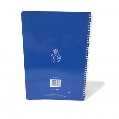 Corona Notebook Back