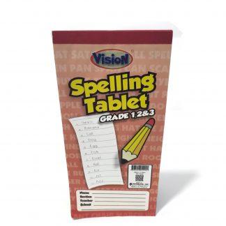 Spelling Tablet - Vision