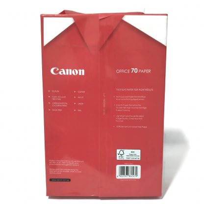 "Canon Legal 8.5"" x 13"" 70 Gsm Back"