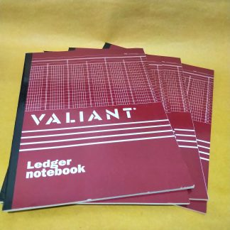 Ledger Notebook Valiant