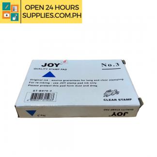A photo of Joy Stamp Pad No. 3 - Blue