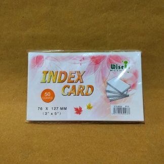 Wise Point Index Card 3 x 5