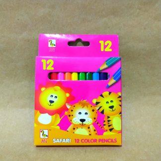 Coloring Pencils (Safari 12 colors) Supplies Delivery