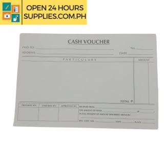 A photo of Cash Voucher 200 mm x 125 mm 50 Leaves