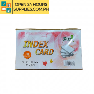 A photo of Index Card Wise Point