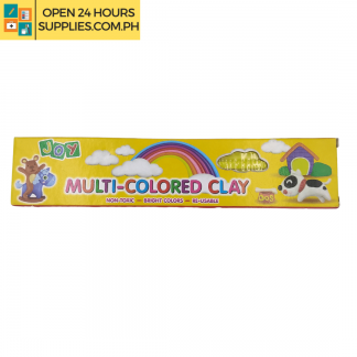 A photo of Joy Multi - Colored Clay