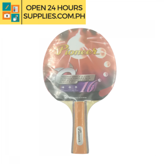 A photo of Pioneer Table Tennis Racket Red