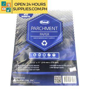 Vision (Parchment Paper) 8-1/2 x 11 216mm x 279mm
