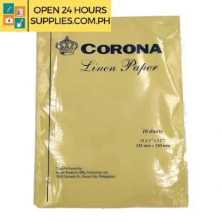 Corona (Liner Paper) 8 1/2 x 11 216mm x 280mm