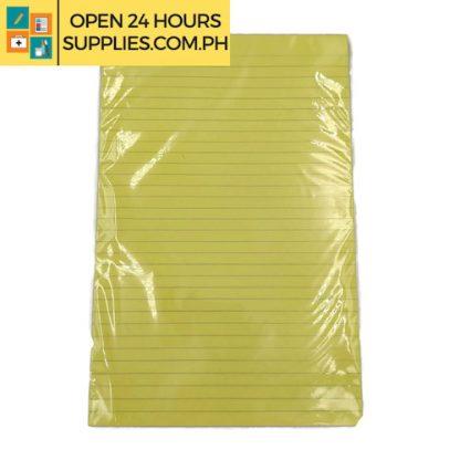 Cattleya ( Yellow Ruled Pad) 216mm x 330 mm 90 Sheets