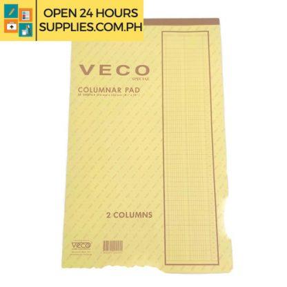 Columnar Pad ( VECO) special 8 1/2 x 14 216mm x 355mm 50 Sheets