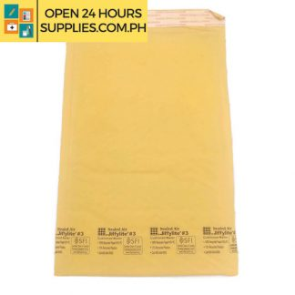 Jiffylite #3 (Sealed air) Cushioned mailer 100% Recycled paper 10% pc 15% recycled plastics