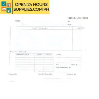 Check voucher