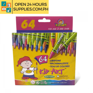A photo of Crayons - Kid Art 64 Colors