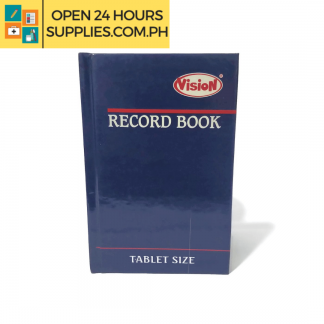 A photo of (Vision) Record Book Tablet 500 pages Size 135x 210 mm - Blue