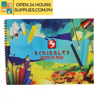 A photo of Scribbles Sketch Pad 228 mm x 304 mm 100gsm 20 leaves