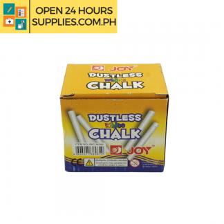 A photo of Joy Dutless White Chalk 50 pieces
