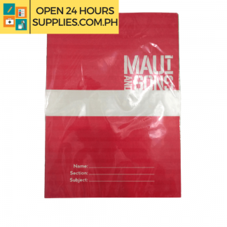 A photo of Maui and Sons Notebook 15 x 21 cm 16 leaves - Assorted Colors