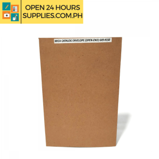 A photo of Mica Catalog Envelope Open-End 6 x 9 #150 - Brown