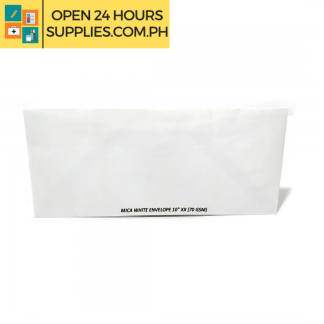 "A photo of Mica White Envelope 10"" xx 70 gsm - White"