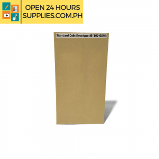 A photo of Standard Coin Envelope #5 100 gsm - Brown