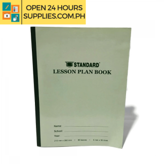 A photo of Standard Lesson Plan Book 210 mm x 280 mm - Green
