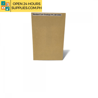 A photo of Standard Coin Envelope #4 100 gsm - Brown