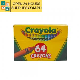 A photo of Crayola 64 Crayons