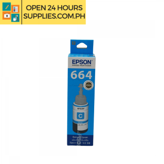 A photo of Epson 664 Ink Cyan