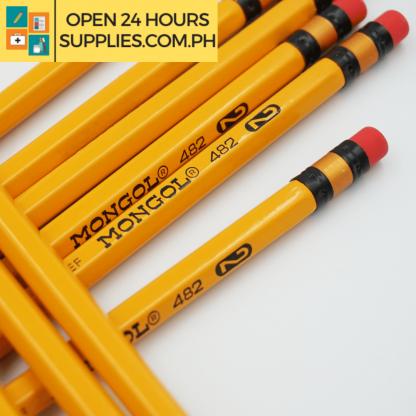A close up photo of Mongol 2 Pencil