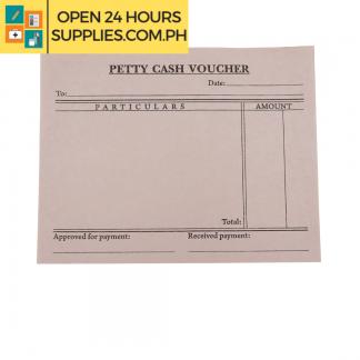 A photo of Petty Cash Voucher