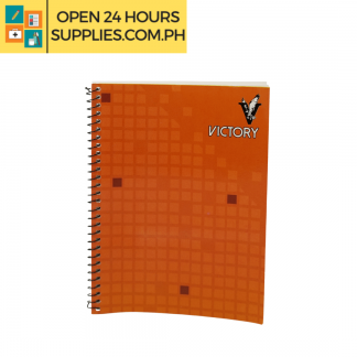 A photo of Victory Notebook 80 leaves 148 mm x 200 mm 230gsm - Orange