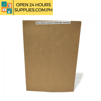 A photo of Mica Catalog Envelope Open-End 7 x 10 #150 - Brown